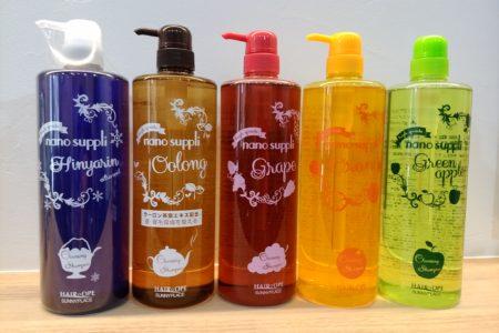 どのシャンプーの香りが好きですか?